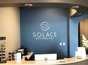 3D Lobby Sign for Optometry