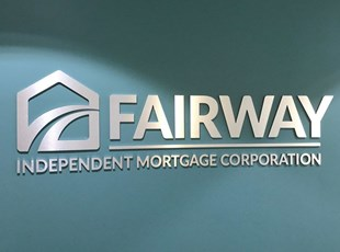 3D Sign for Mortgage Corporation