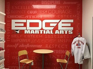 Martial Arts Wall Graphics