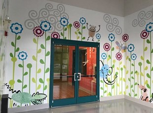 Creative Wall Graphics for Daycare Center