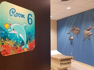 Underwater Wall Graphics for Medical Center