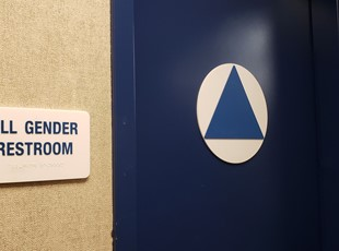 ADA Sign for All Gender Restroom