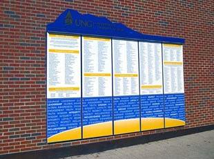 Donor Wall Directory for UNG