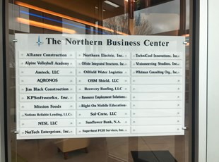 The Northern Group Interior Directory Sign
