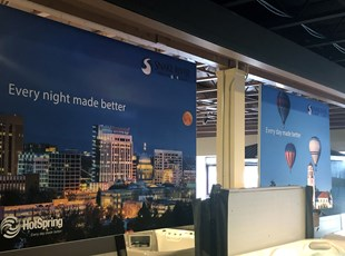 Indoor Fabric Banners for Office Environment