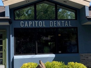Metal Lettering for Dental Practice