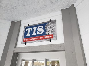 Metal Sign for Insurance Store