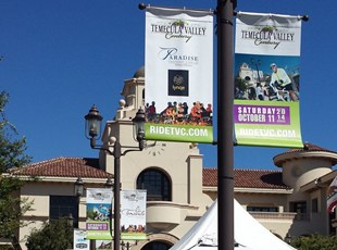 Pole Banners for Event