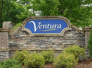 Ventura Monument Sign with Routed Sandblasted Sign