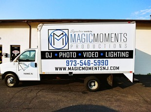 Vehicle Lettering for Production Company
