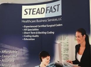 Tradeshow Booth Backdrop for Healthcare Services