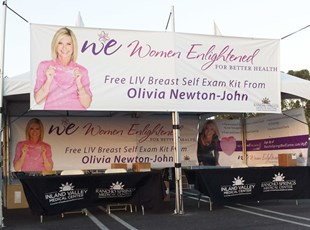 Womens Health Event Fabric Banners
