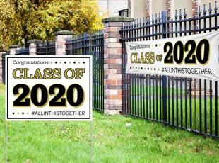 Graduation Yard Sign and Banner