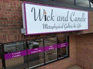 Lightbox for Wick and Candle Shop