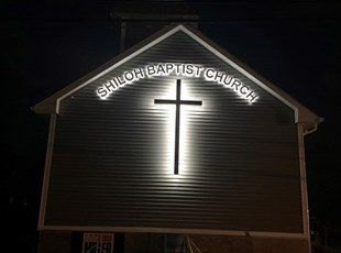 LED Outdoor Display for Church