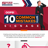 INFOGRAPHIC: 10 Common Mistakes With Signage