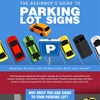 INFOGRAPHIC: The Beginner's Guide to Parking Lot Signs