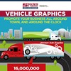 INFOGRAPHIC: Vehicle Graphics - Promote Your Business Around the Clock