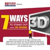 Infographic: 3D Signage - Increase and Impact your Audience