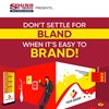 INFOGRAPHIC: Don't Settle For Bland When It's Easy To Brand!