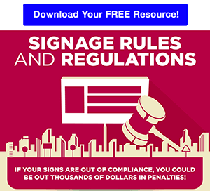 Signage Rules and Regulations Free Resource