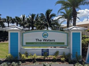 The Waters Monument Sign