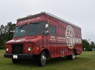 Vehicle Wrap on Restaurant Truck