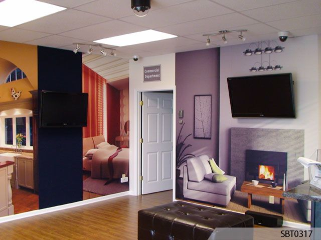 custom indoor wall mural indoor graphics