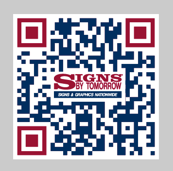 Signs By Tomorrow QR Code - Colored