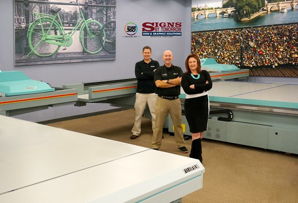 Maryland Signs By Tomorrow Adds Second Acuity Flatbed Press