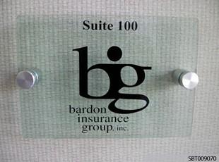 Interior Suite Sign