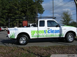 Landscaper Vehicle Graphics & Lettering