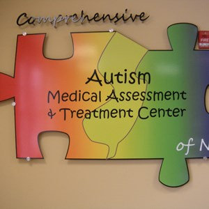 Acrylic Lettering and Standoff - Comprehensive Autism