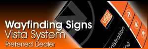 vista systems signs by tomorrow greenville wayfinding banner graphics