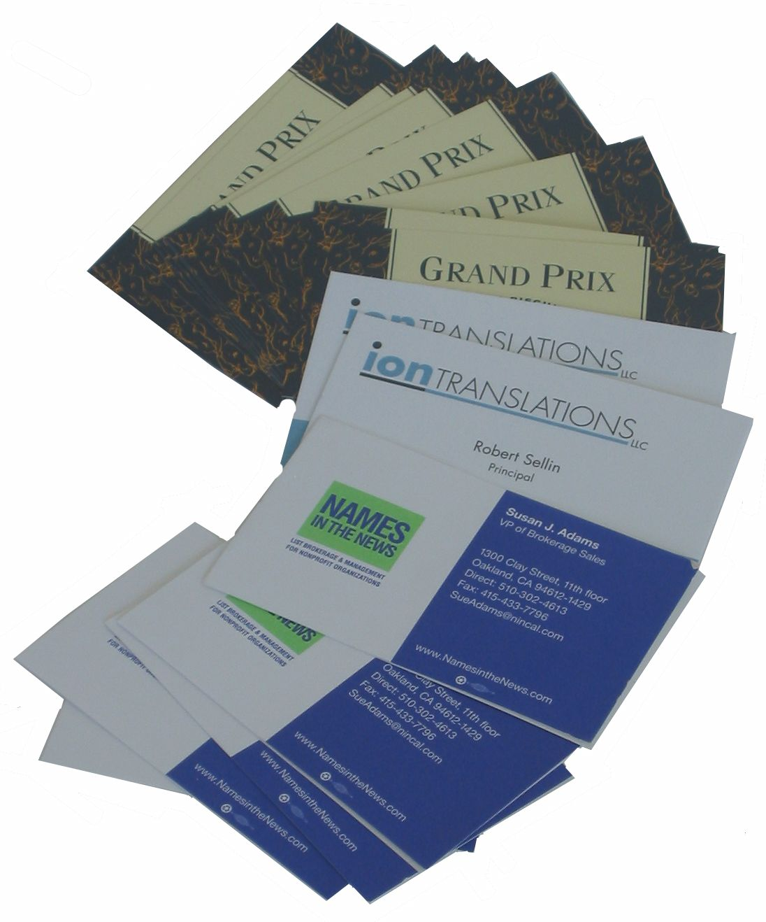 Business Cards - Signs By Tomorrow - Greenville SC