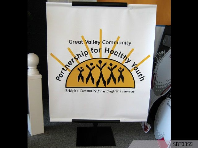 Healthy Youth Banner Stand
