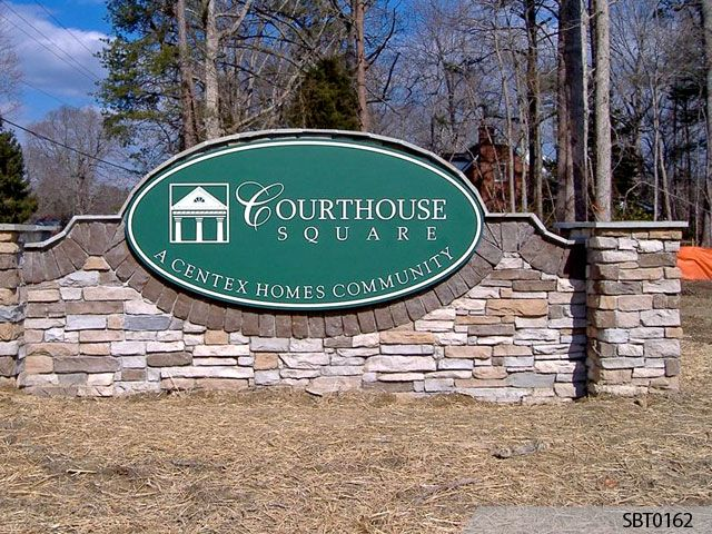 Housing Community Monument Sign