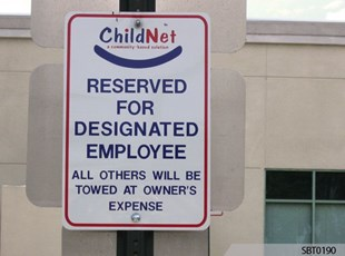 Childnet Parking Sign