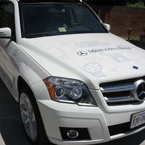 Mercedes Wrap 1 of 2 for Crossroads Cars