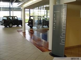 Auto Dealership Freestanding Frame