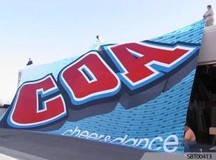 COA Dance Fabric Banner