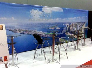 City of Miami Indoor Fabric Banner