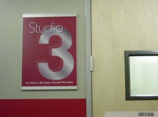 Room Number Wall Frame
