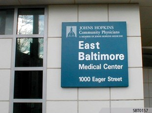 Hospital Metal Sign