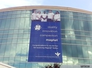 Healthcare Grand Format Fabric Banner