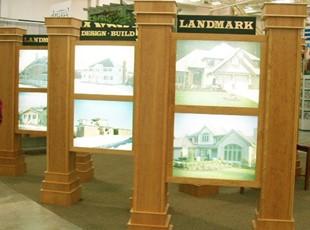 Landmark Builders Lighted Display Panels