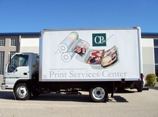 CPM Delivery Truck