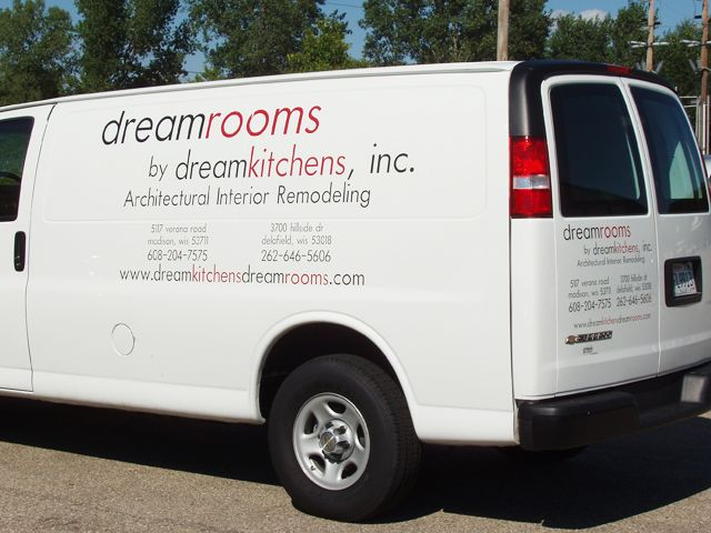 Vinyl Vehicle Lettering | Truck Decals | Graphics