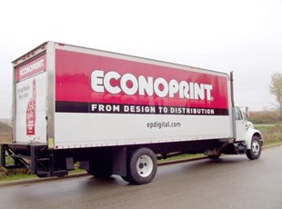 Econoprint Delivery Truck