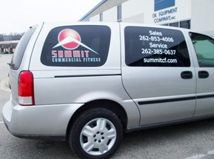 SUV Rear Quarter Windows